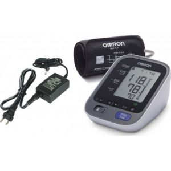 Tensiometru electronic de brat Omron M7 Intelli IT, Bluetooth - cu adaptor priza